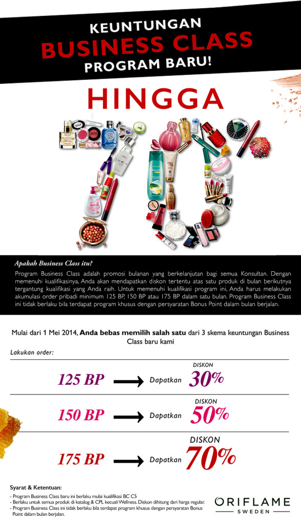 Bussiness Class Oriflame