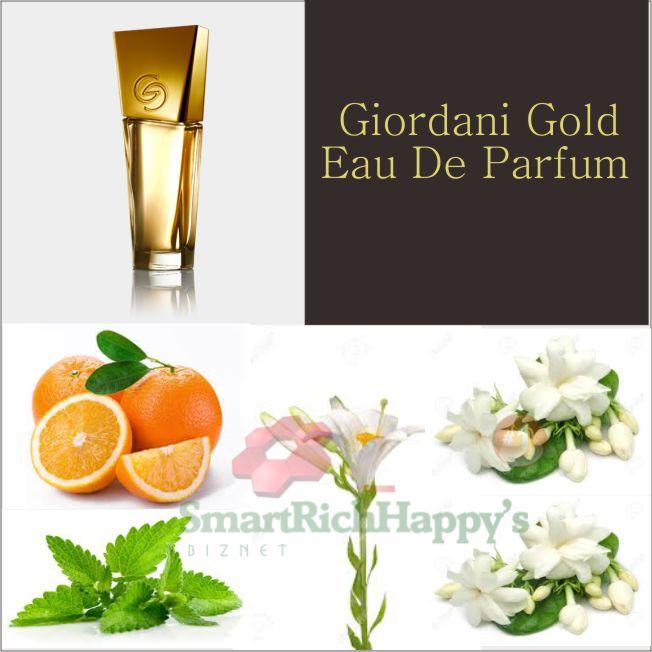 Komposisi Giordani Gold Eau De Parfum