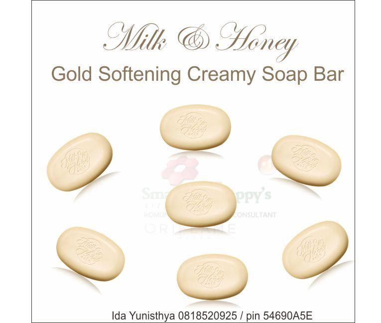 Milk & Honey Gold Softeniing Creamy Soap Bar 31604