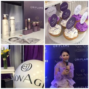Launching NovAge Oriflame 11 Maret 2